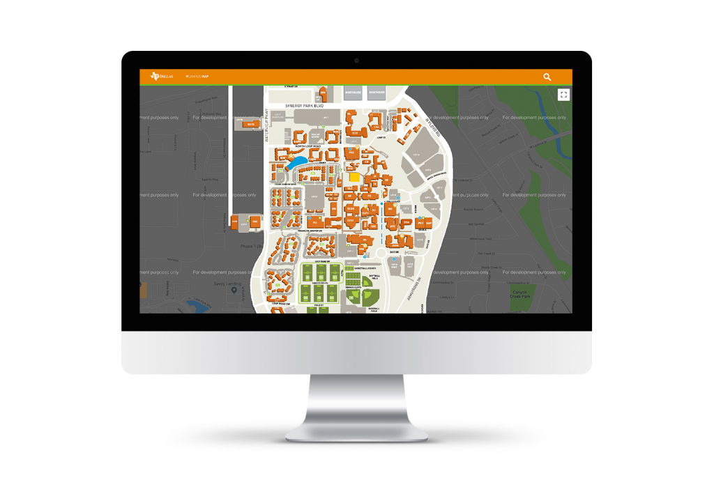 Campus Map Redesign – Cary B. Delmark